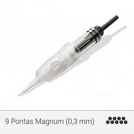 Agulha de 09 Pontas Magnum - Supreme E0259A
