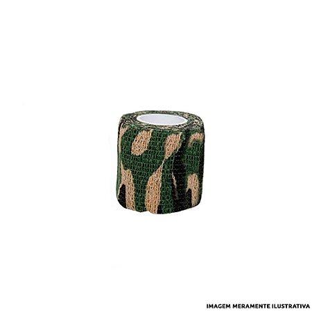 Fita Elástica Antiderrapante Camuflada 5,0cm