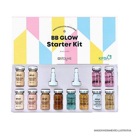 Kit BB GLOW Starter Completo Dermawhit - STAYVE