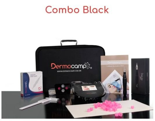 COMBO CONTROLE LCD - BLACK 300 - TOUCH CRISTAL