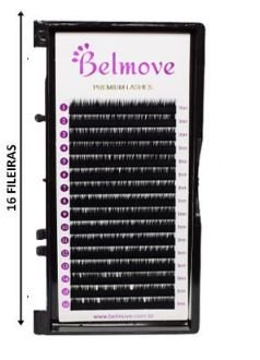 Cílios 14mm C 0.07 16 Fileiras - Belmove
