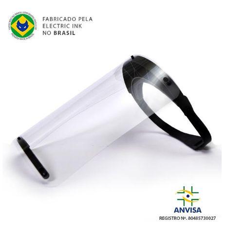 Máscara Face Shield - Protector Shield Electric Ink - Preta
