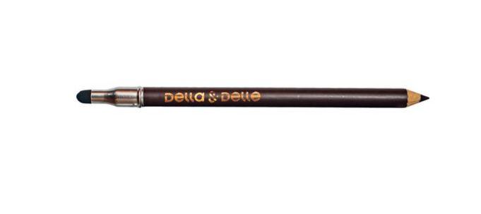 Lápis de Olho Com Esfumador Marrom - Della & Delle