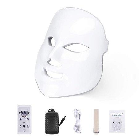Máscara LED Facial de Fototerapia Estética