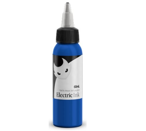 Tinta Para Tatuagem Electric Ink 60ml - Azul Médio