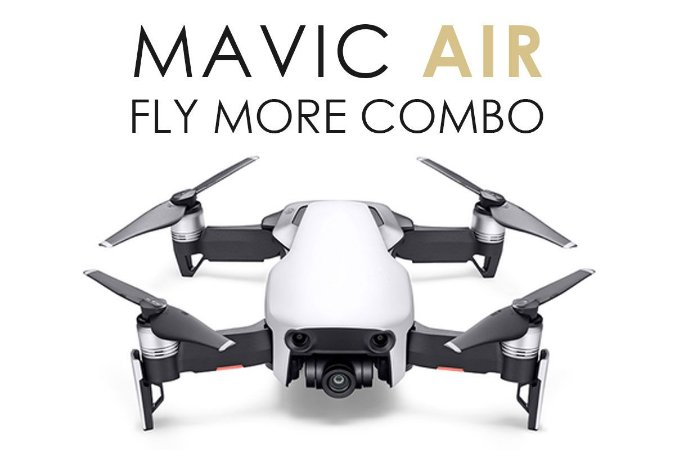 Drone DJI Mavic Air Fly More Combo