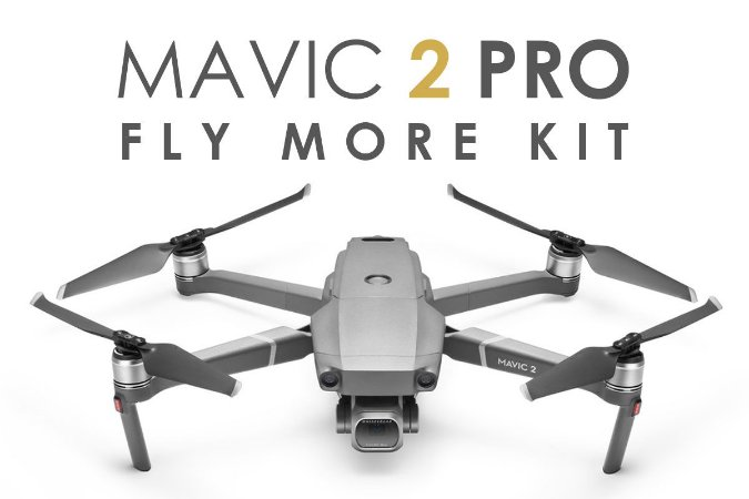 Drone DJI Mavic 2 Pro - Fly More Kit