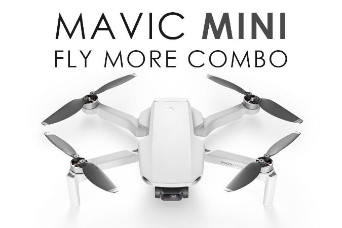 Drone DJI Mavic Mini Fly More Combo (Versão MT1SS5 - FCC)