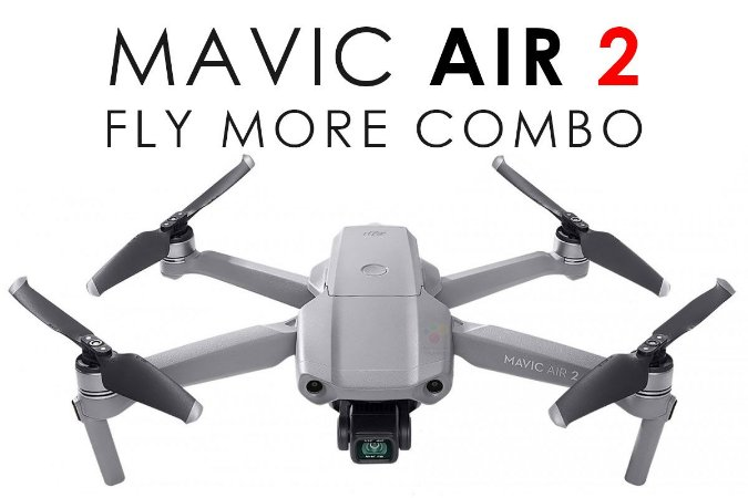 Drone DJI Mavic Air 2 - Fly More Combo (BR)
