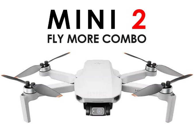 Drone DJI Mini 2 Fly More Combo - PRÉ VENDA