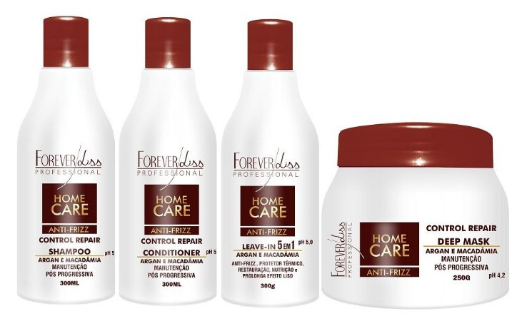 Forever Liss Home Care - Kit Manutenção Pós Progressiva
