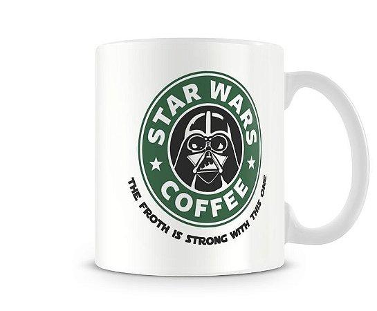 Caneca Star Wars - Darth Vader Coffee
