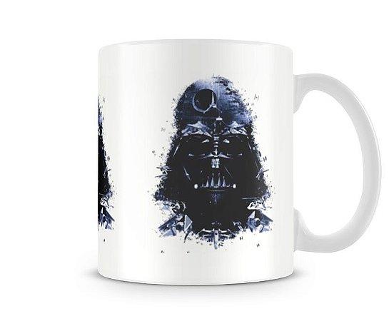 Caneca Star Wars - Darth Vader Nave