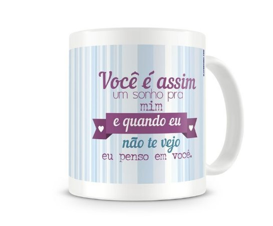 Caneca Marisa Monte - música Velha Infância - Elefante Rei