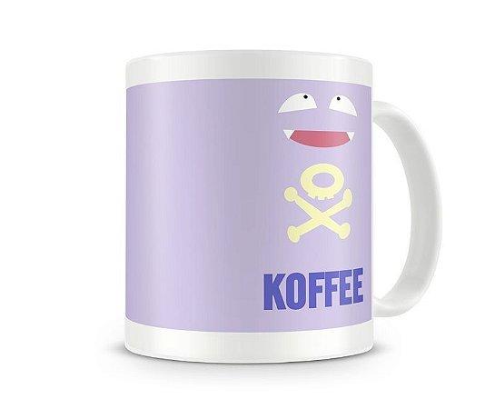 Caneca Pokémon - KOFFEE