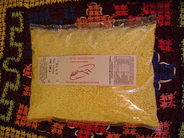 Farinha de mandioca torrada do Sítio Abaetetuba - 500 g