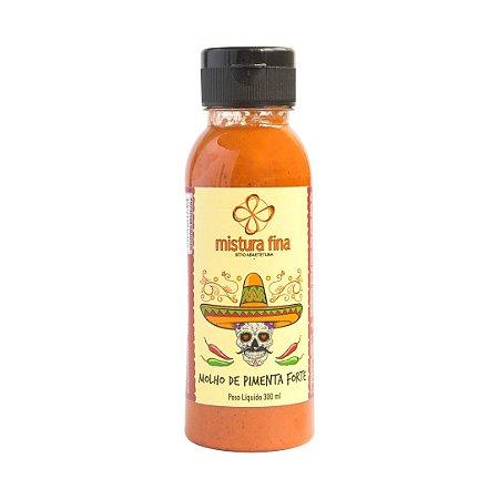 Molho de Pimenta Forte Defumado - 300 ml