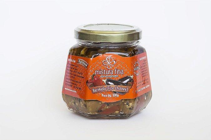 Berinjela (tipo chutney) Mistura fina 205 g
