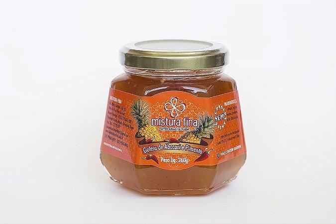 Geleia de Abacaxi com Pimenta Mistura Fina - 260 g