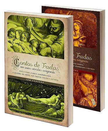 Kit: Dois volumes da coleção Contos de Fadas em suas versões originais