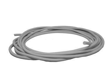 Guarnição de Borracha Maciça - 5 mm - Cinza - Rolo 50 metros