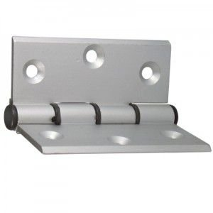 Dobradiça em Alumínio p/ Porta Mosquiteiro