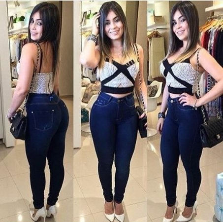 Calça Jeans Hot Paints Levanta Bumbum