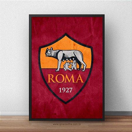Placa Decorativa Roma