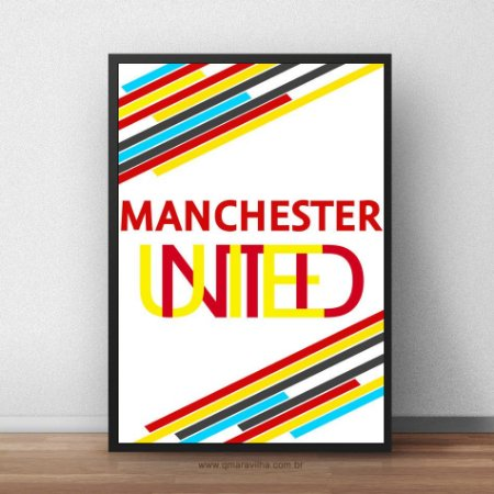 Placa Decorativa Manchester