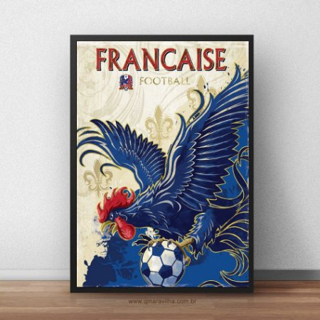 Placa Decorativa França