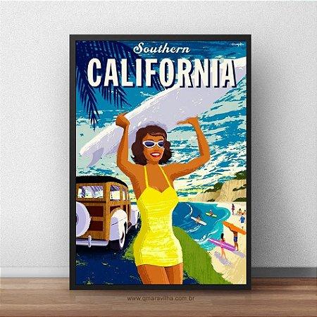 Placa Decorativa California