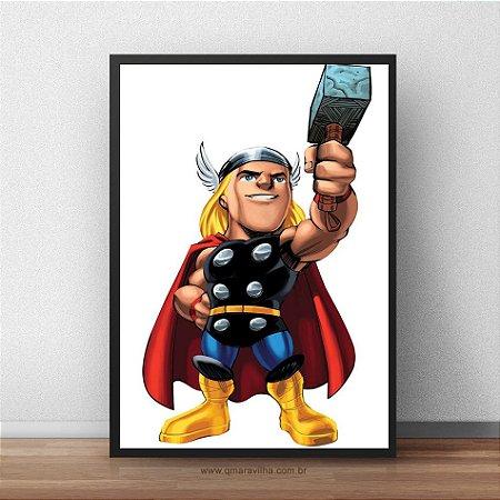 Placa Decorativa Thor Kids