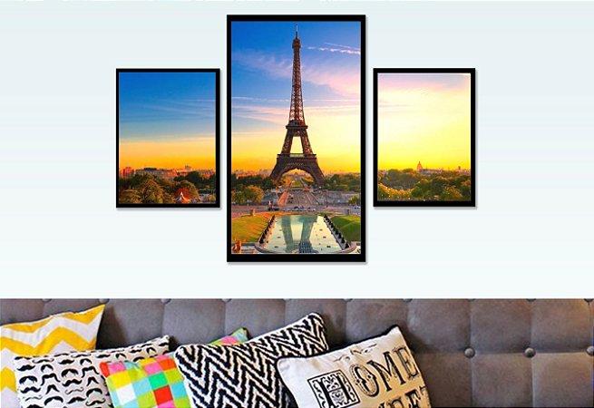 Composição Torre Eifel - 3 unidades