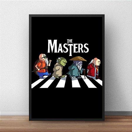 Placa Decorativa The Masters