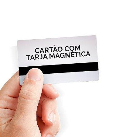 Cartões, Crachás e Carteirinhas em PVC com Tarja Magnética