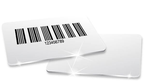 Cartões, Crachás e Carterinhas em PVC com Código de Barras