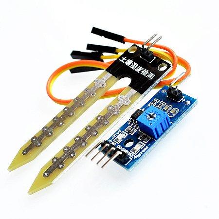 Sensor de Umidade do Solo Higrômetro FW1S