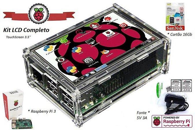 Kit Raspberry LCD 3'5 Touchscreen