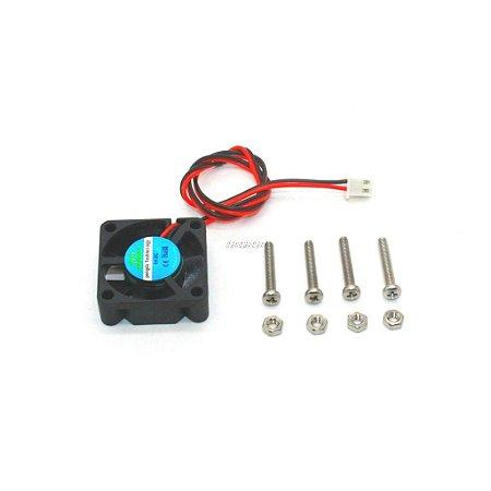 Mini Cooler Fan 30x30x10mm 5v 2A para Raspberry