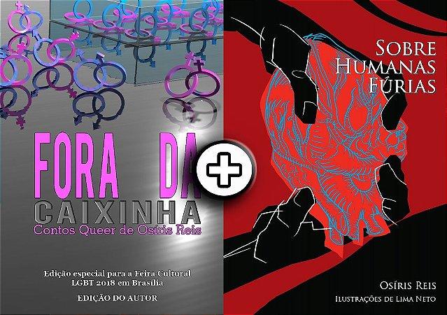 Kit de exemplares impressos - Sobre humanas fúrias + Fora da Caixinha