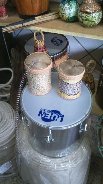 Tambor trovão / tambor de mola / tambor tupã