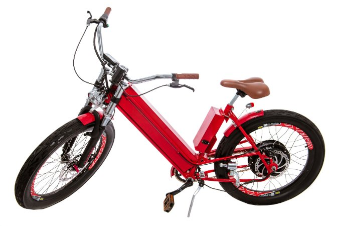 "Kit Livre Bike aro 24"" - Modelo Chopper 1500 W - bateria lítio"