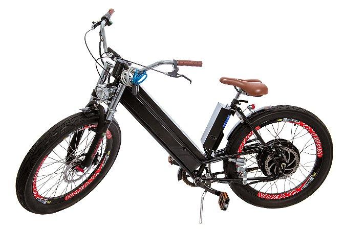 "KIT LIVRE BIKE aro 24"" - Modelo Chopper 1000 W - bateria chumbo"