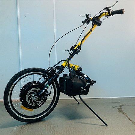 KIT LIVRE® - Pro 1000W amarelo com painel LED3 com coluna de direção amarelo e guidão amarelo - SEMINOVO