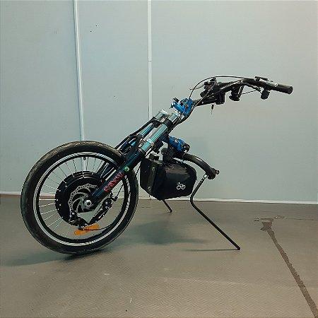 KIT LIVRE® - Radical 1000W azul claro com painel LCD4 e acelerador com chave de partida - SEMINOVO