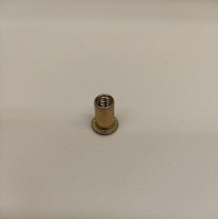 Rebite Pop Nut M05 Cab Plana (10 Unid)