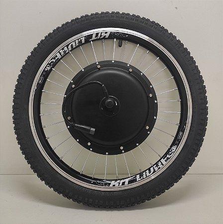 """Roda Motorizada Kit Livre - 1.000W / 1.500W ARO 20"""" - Cor Preto - VMAXX"""
