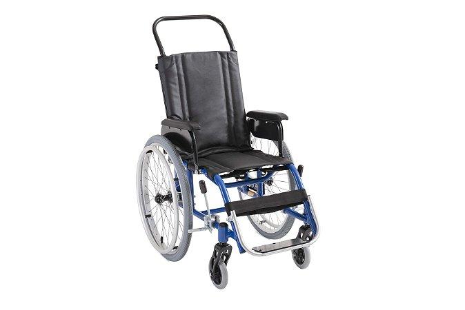 Cadeira de Rodas Modelo Gazela Ultra Lite Infantil - Ortobras