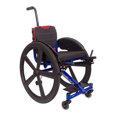 Cadeira de rodas Modelo UniBlock Junior - Smart
