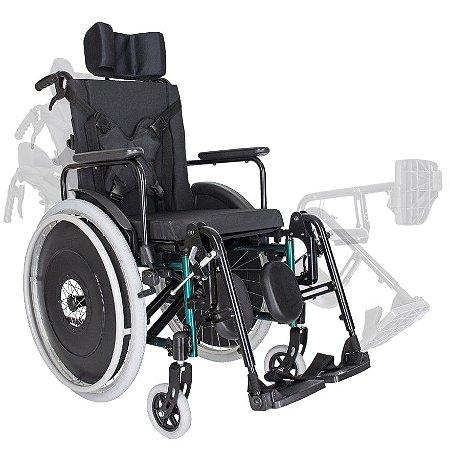 Cadeira de Rodas Modelo MA3R Reclinável - Ortomobil